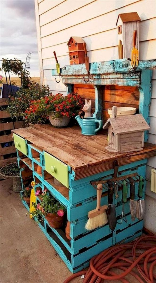 33 Ideas For Pallet Garden (18)