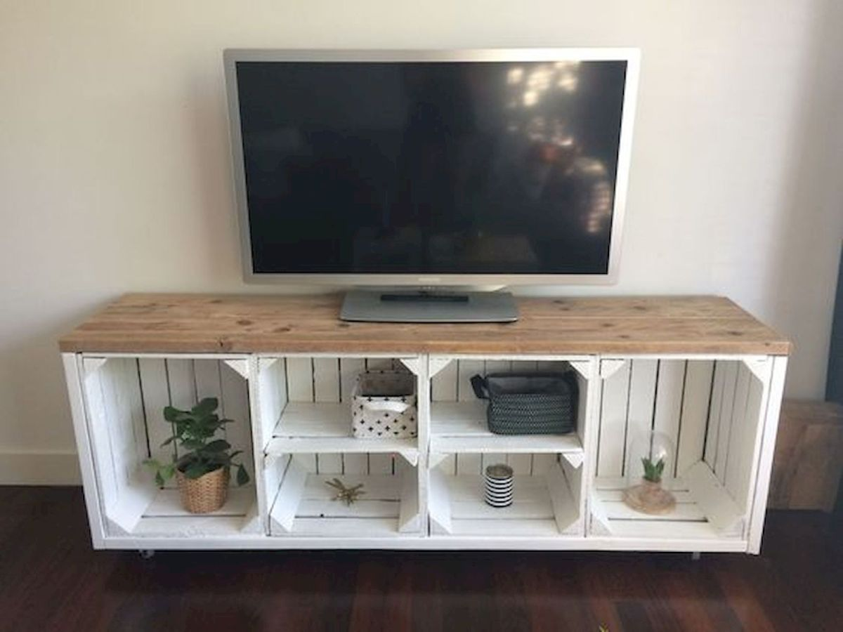 33 Ideas For Pallet TV Stand (11)