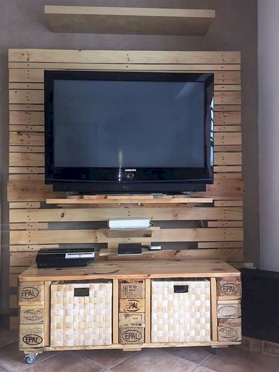 33 Ideas For Pallet TV Stand (17)
