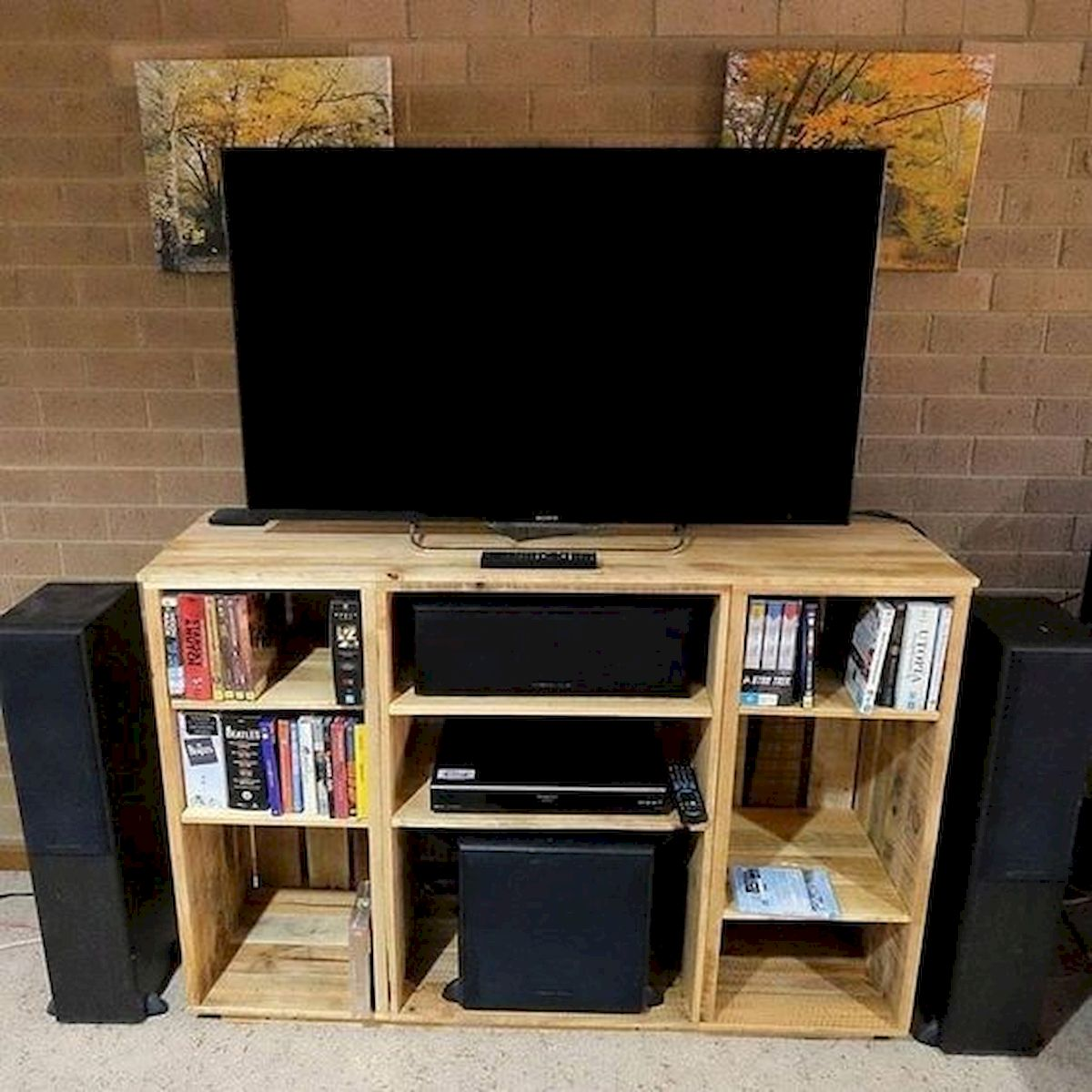 33 Ideas For Pallet TV Stand (4)