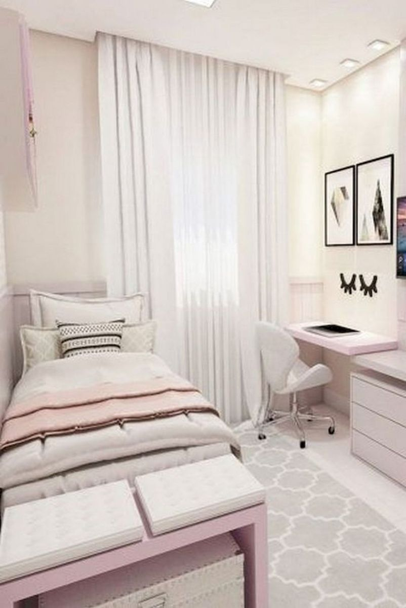 33 Ideas For Small Apartment Bedroom (1)