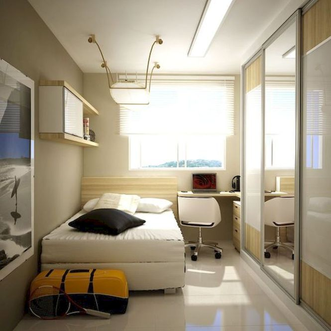 33 Ideas For Small Apartment Bedroom