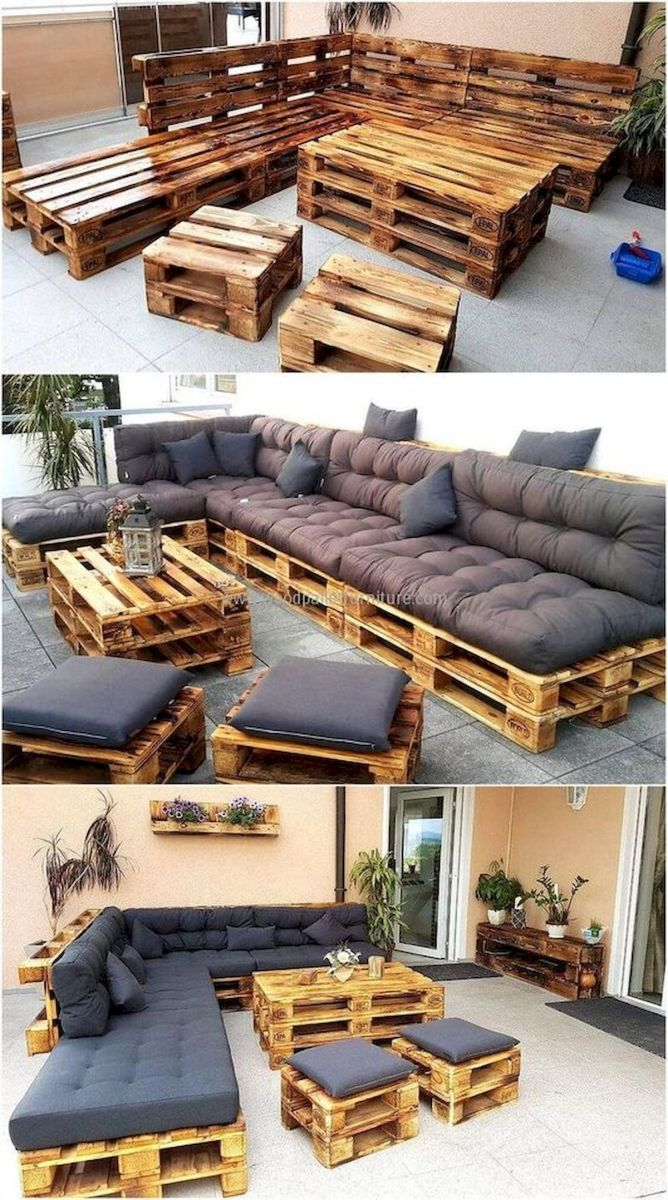 33 Best DIY Patio Furniture Ideas (10)