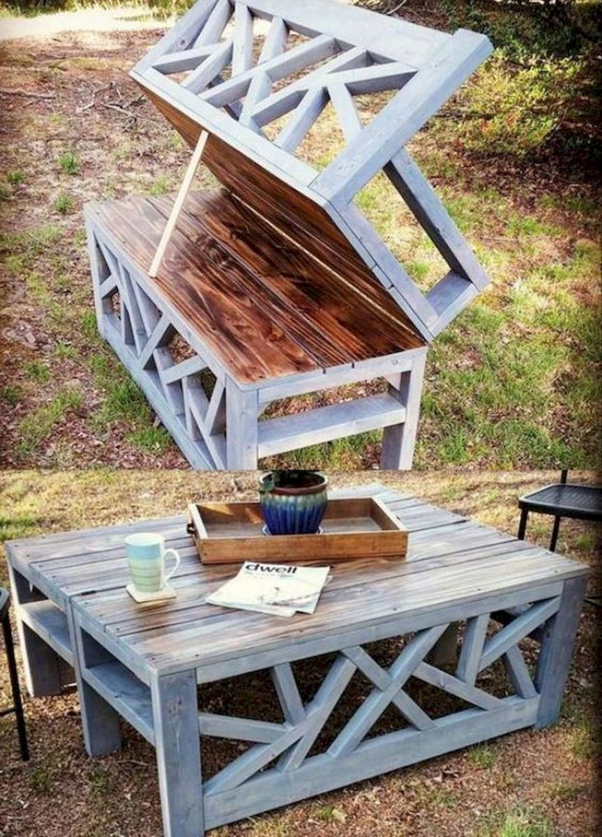 33 Best DIY Patio Furniture Ideas (11)
