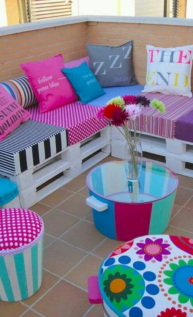 33 Best DIY Patio Furniture Ideas (14)