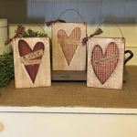 33 Best DIY Wood Hearts Ideas (2)