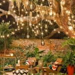 33 Best Outdoor Summer Party Lighting Ideas (14)