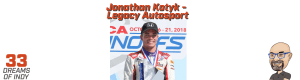 Jonathan Kotyk - Road to Indy Driver