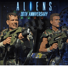 ALIEN 30TH ANNIVERSARY HICKS AND HUDSON TWO PACK