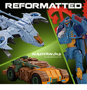 NEW REFORMATTED TRANSFORMING FIGURES