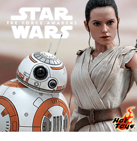 1/6 SCALE REY AND BB-8 MASTERPIECE FIGURES