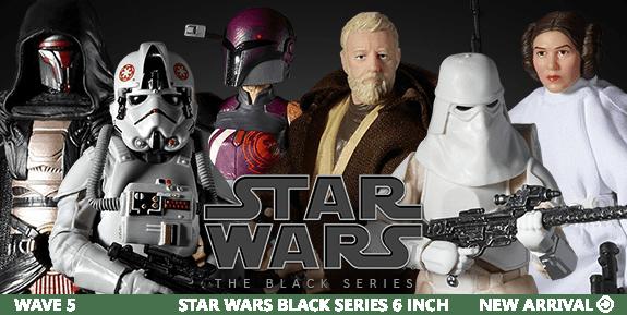 STAR WARS EPISODE VII BLACK FIGURES