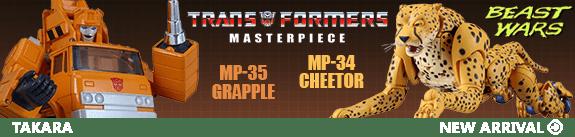 TRANSFORMERS MASTERPIECE MP-34 & MP-35