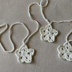 Crochet Garland Tutorial Little Button Blue