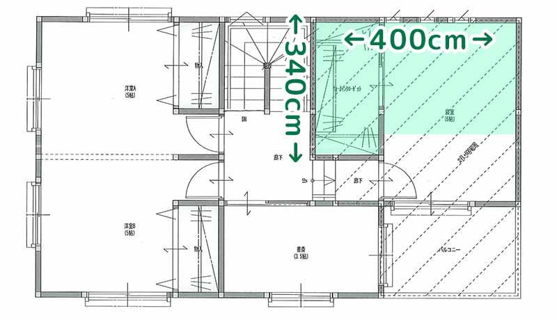 33坪新築_3.5坪の床下収納