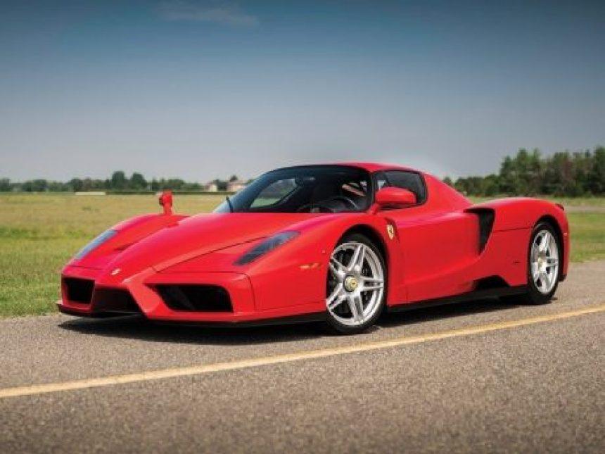 Ferrari Enzo 2003: El auto más caro vendido en una subasta en línea