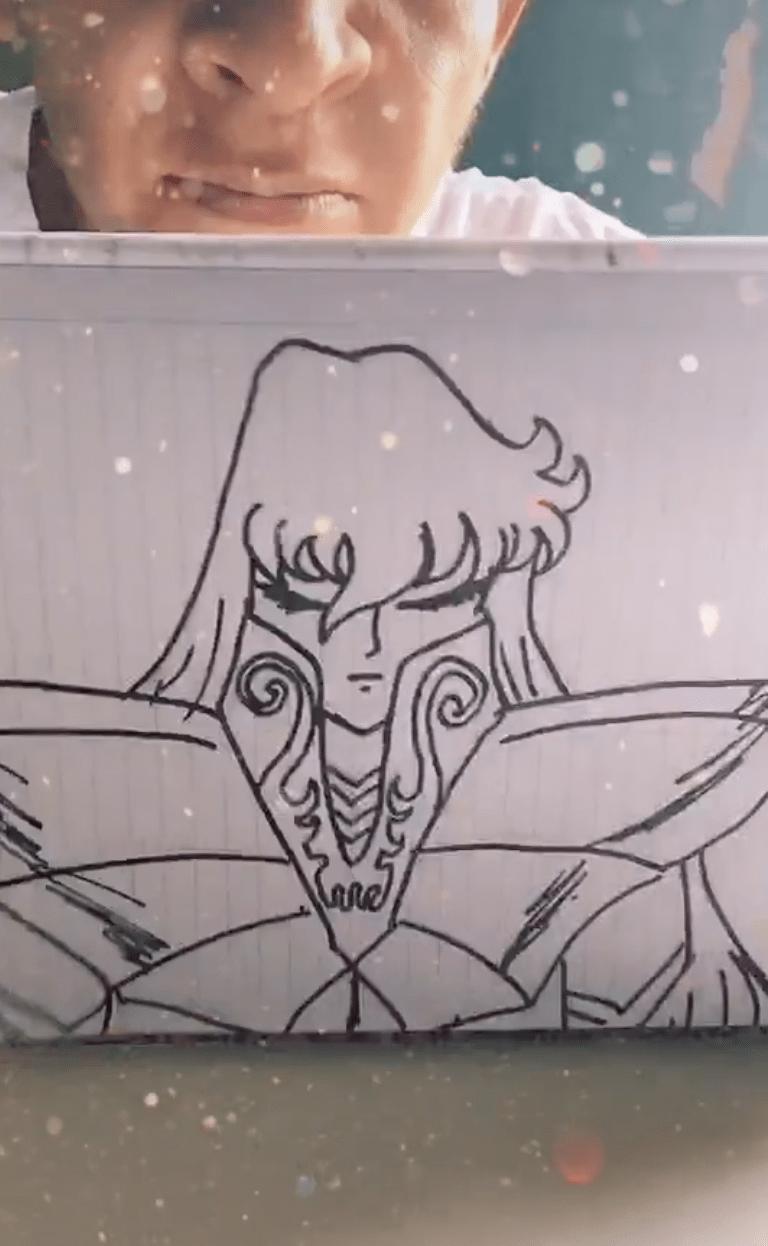 ¡Qué talentazo! Este hombre crea dibujos en cuestión de segundos en TikTok