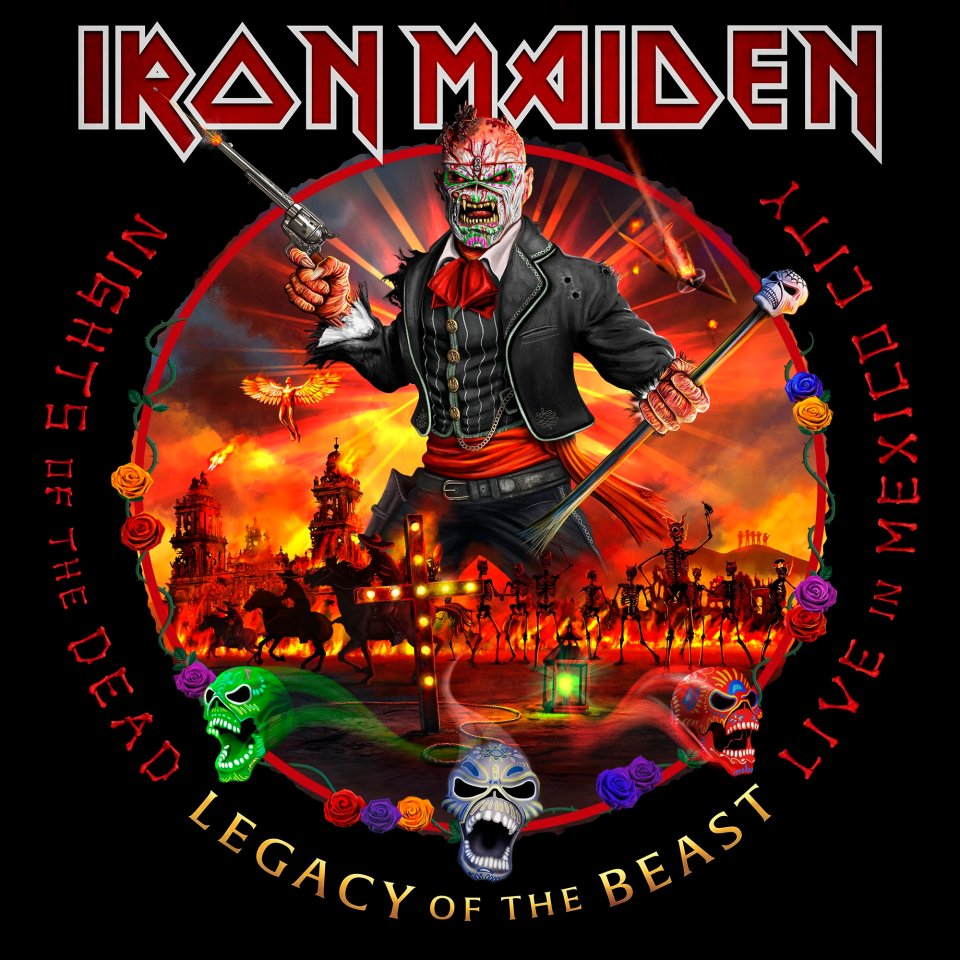 Paren todo: ¡Iron Maiden lanzará un álbum de sus conciertos en México!