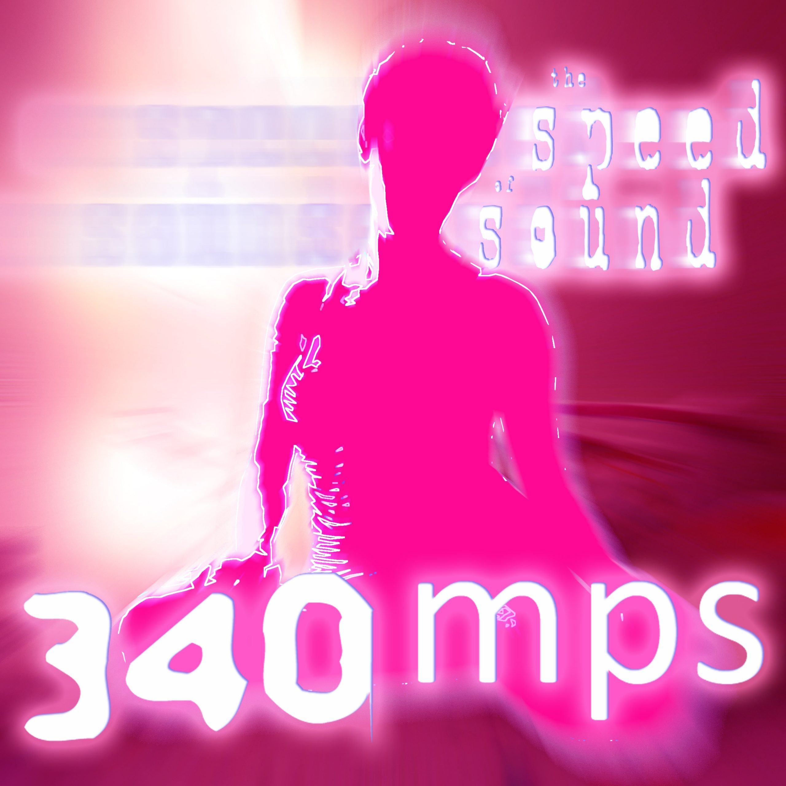 The Speed of Sound Podcast by DJ 340MPS - Cover v2