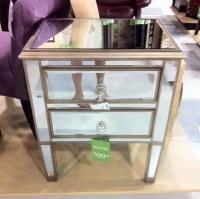 Mirrored Furniture Nightstand. Mirrored Dresser Seen At ...