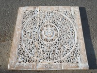 Buy Balinese Antique Wood Carving Wall Art Panel Online