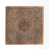 Buy Oriental Decorative Wood Carving Wall Art Paneling Online