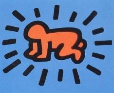 Radiant Child. Keith Haring (Featured image: artnet)