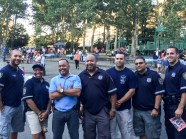 Neighborhood Coordinating Officers at National Night Out. The 34th Precinct is one of first four in the city with the NCO program.