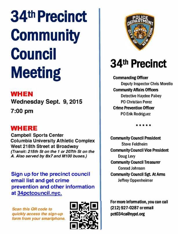 September meeting flyer