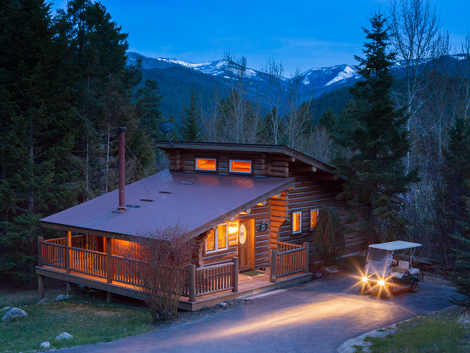 Luxury Ranch Cabins  Triple Creek Ranch