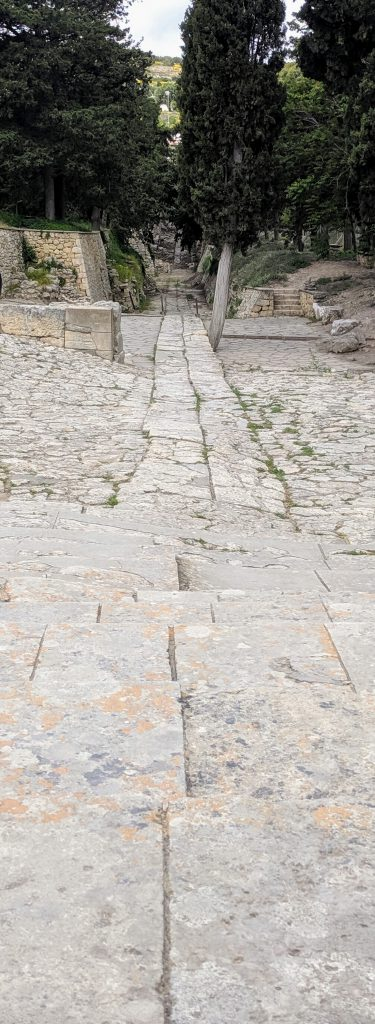 Oldest paved road in Europe