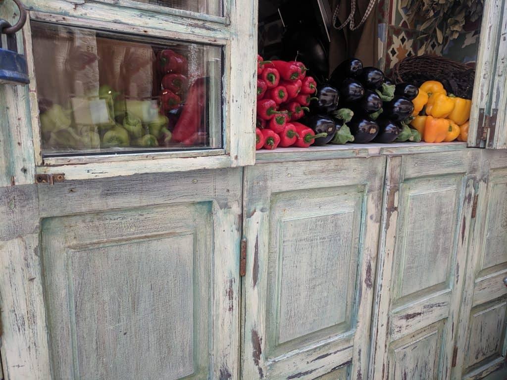 Vegetables in Rethymno