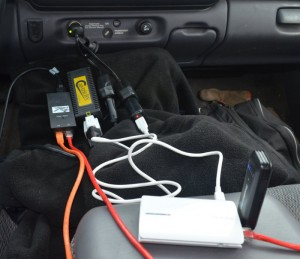Inverter, Hub power supply, and Ethernet cables