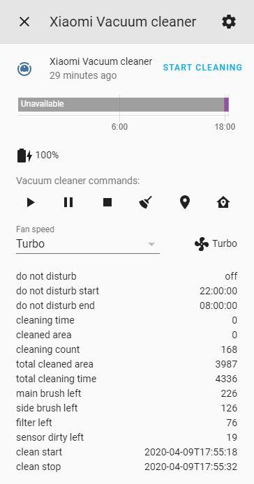 Xiaomi Vacuum State Lovelace