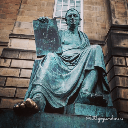 David Hume, Edinburgh, Scotland
