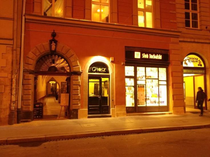 Krakow_GROSZ for currency exchange