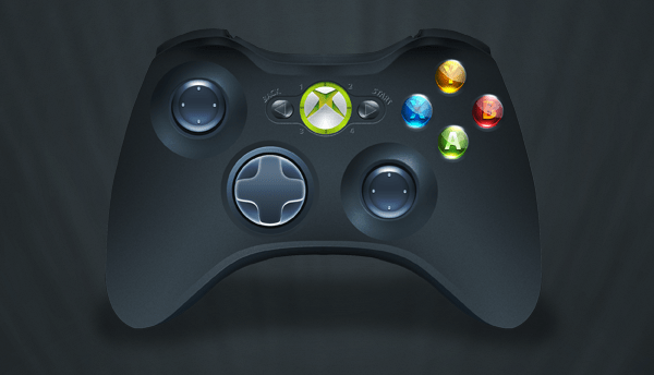 Xbox 360 Elite Joypad Icon
