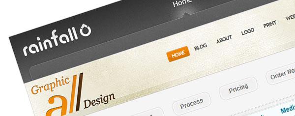Beautiful Website Navigation