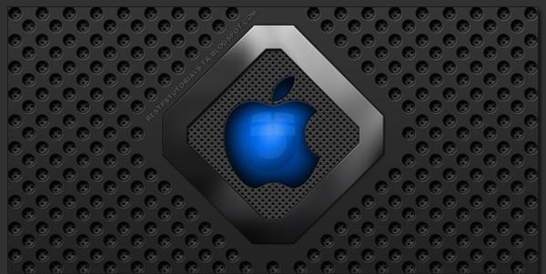 Apple Logo and Wallpaper
