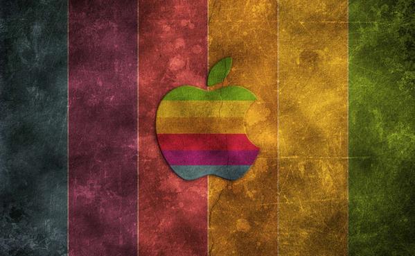 Create a Retro Grunge Apple Wallpaper