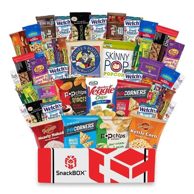 Sample of Smart Healthy Snacks