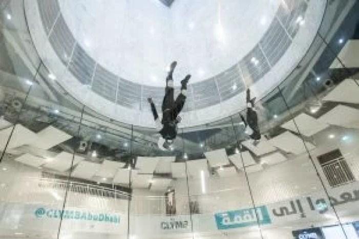 Clymb Abu Dhabi Indoor Skydiving