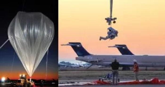 Alan Eustace balloon