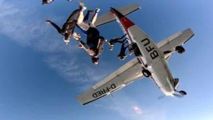 BFU skydiving School top drop zones in italy