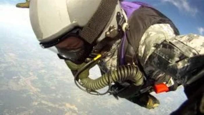 HALO skydive equipment