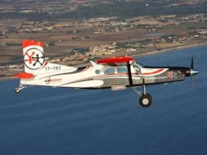 Skydive Fano Turbolenza Airplane