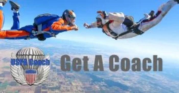 USPA skydiving coach