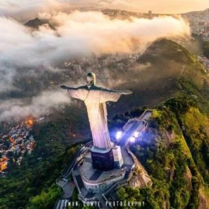 Rio de Janerio Helicopter ride photograph