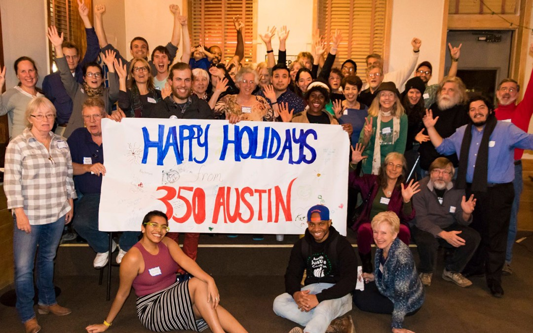 350 Austin Holiday Event Success