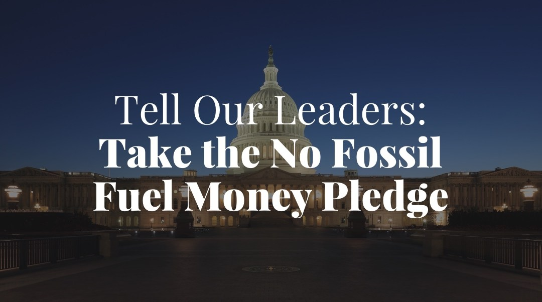 "100 Texas Candidates Sign ""No Fossil Fuel Money"" Pledge"